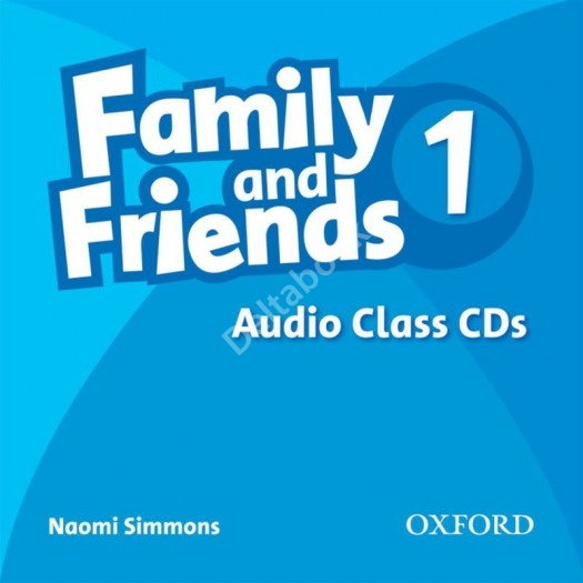 Family and Friends 1 Audio Class CDs  Аудиодиски