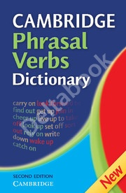 Cambridge Phrasal Verbs Dictionary Hardback (2nd Edition)