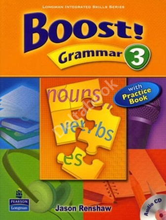 Boost! Grammar 3 + Practice Book + Audio CD  Учебник