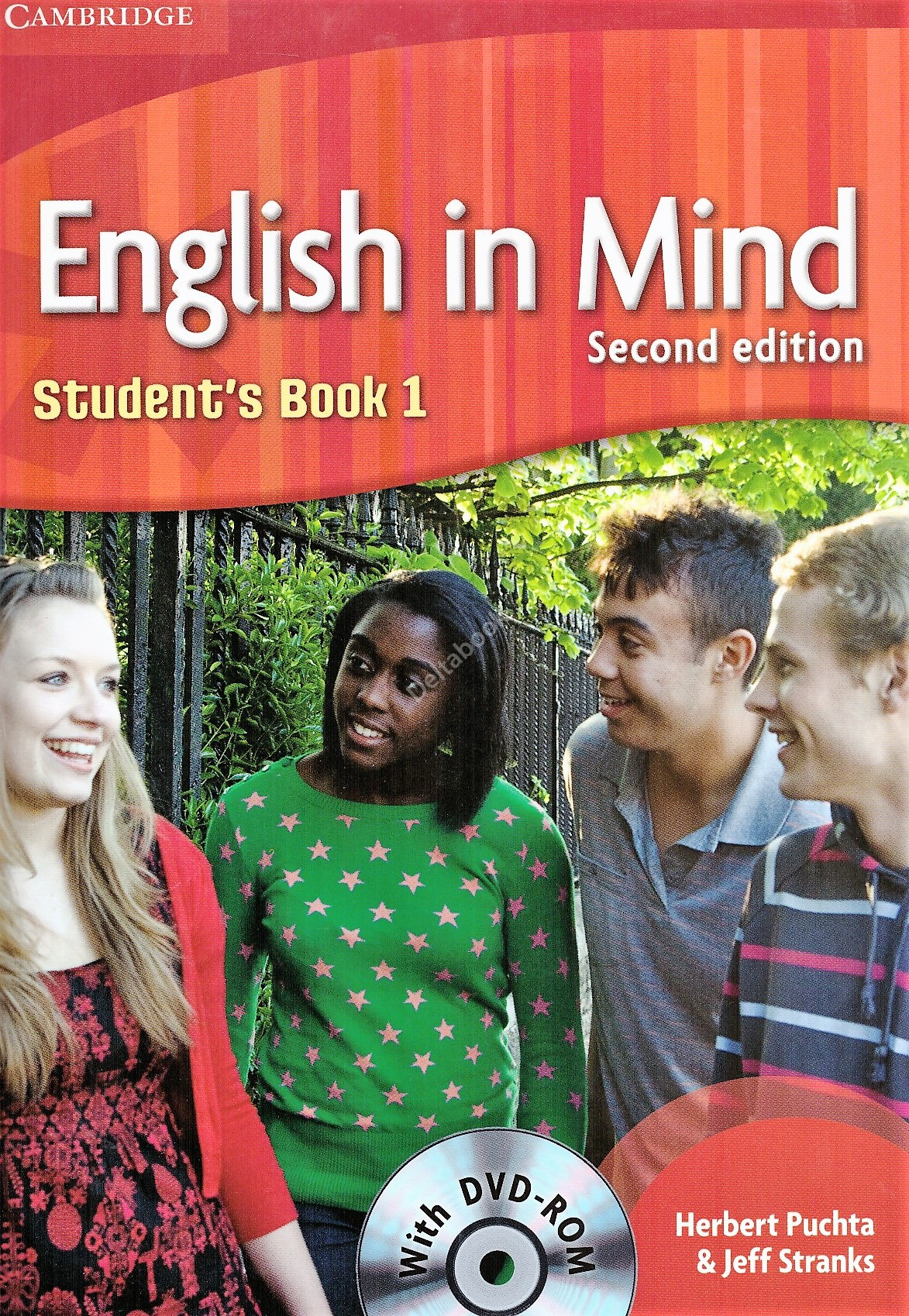 English in Mind (Second Edition) 1 Student's Book + DVD-ROM  Учебник