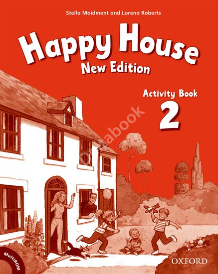 Happy House (New Edition) 2 Activity Book + MultiROM  Рабочая тетрадь