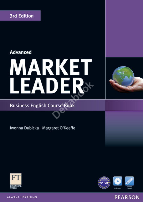 Market Leader (3rd Edition) Advanced Course Book + DVD-ROM  Учебник