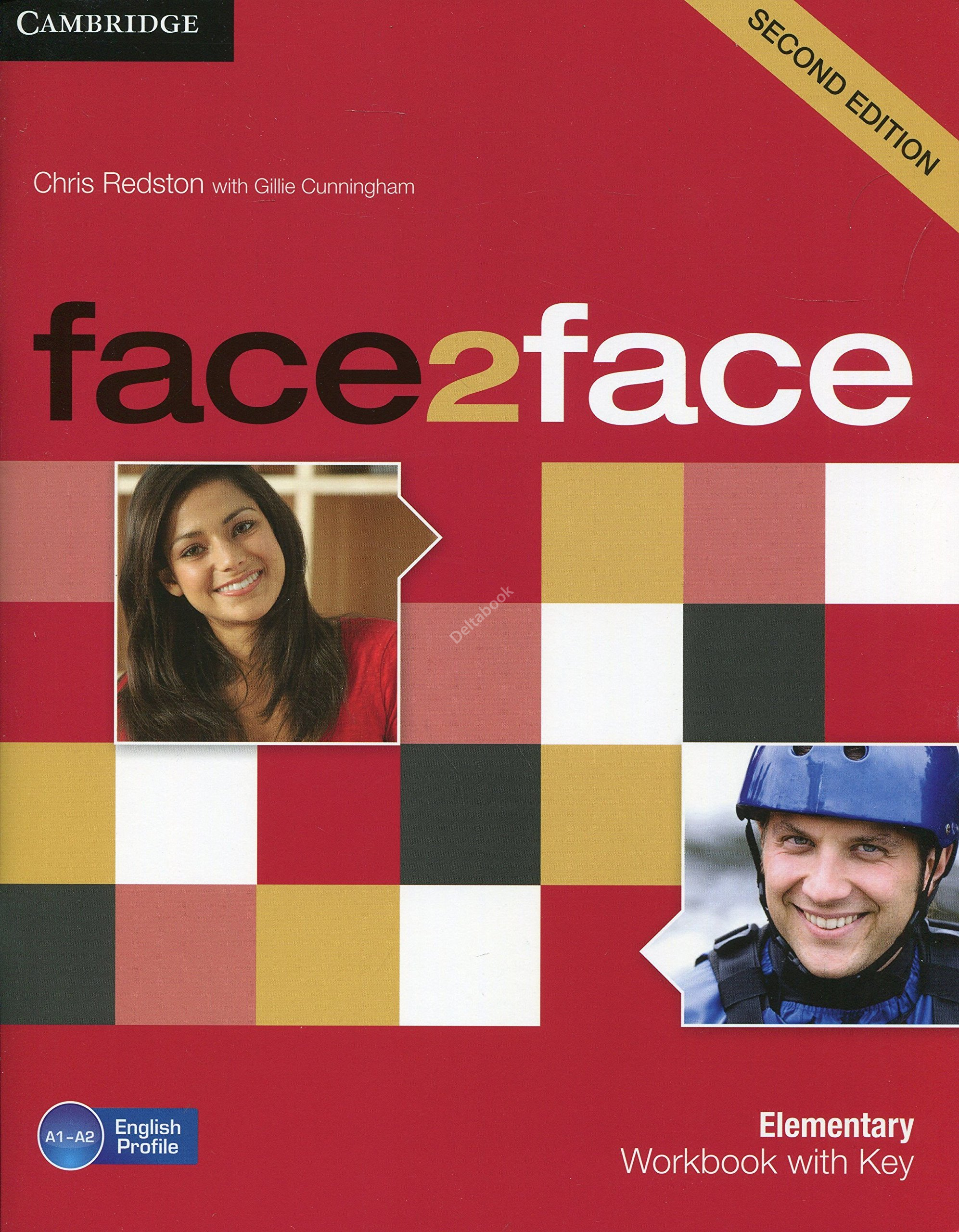 Face2Face (Second Edition) Elementary Workbook + Key  Рабочая тетрадь + ответы
