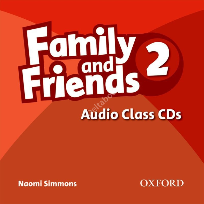Family and Friends 2 Audio Class CDs  Аудиодиски
