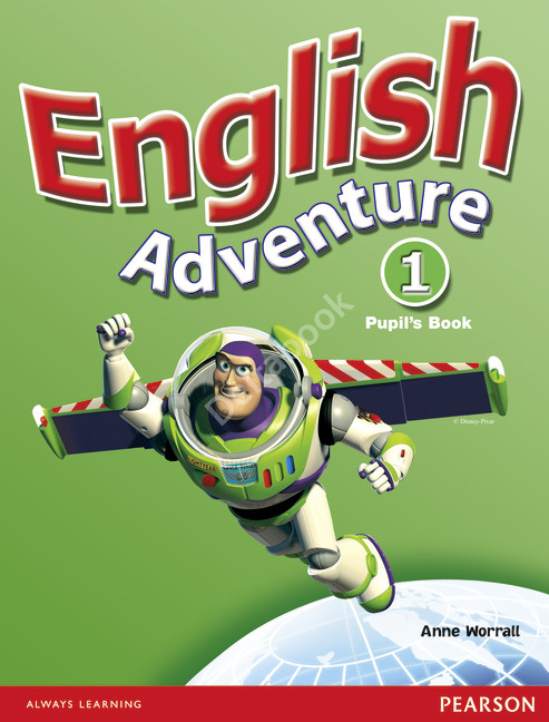 English Adventure 1 Pupil's Book  Учебник