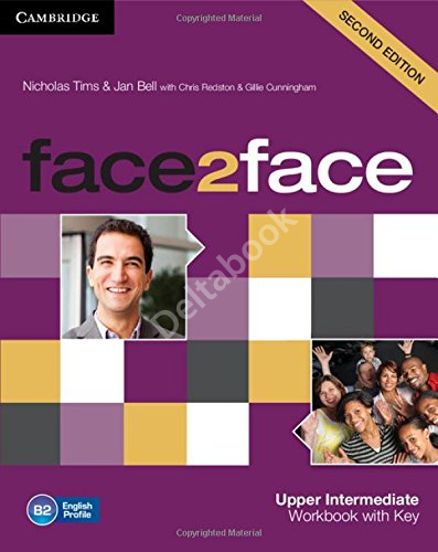 Face2Face (Second Edition) Upper-Interrmediate Workbook + key   Рабочая тетрадь + ответы