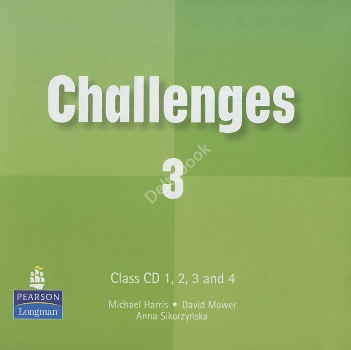 OLD Challenges 3 Class Audio CD  Аудио CD к учебнику (2 шт.)