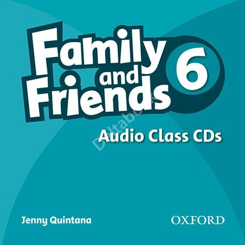 Family and Friends 6 Audio Class CDs  Аудиодиски