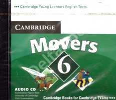 Cambridge Young Learners English Tests Movers 6 Audio CD  Аудио СD к учебнику