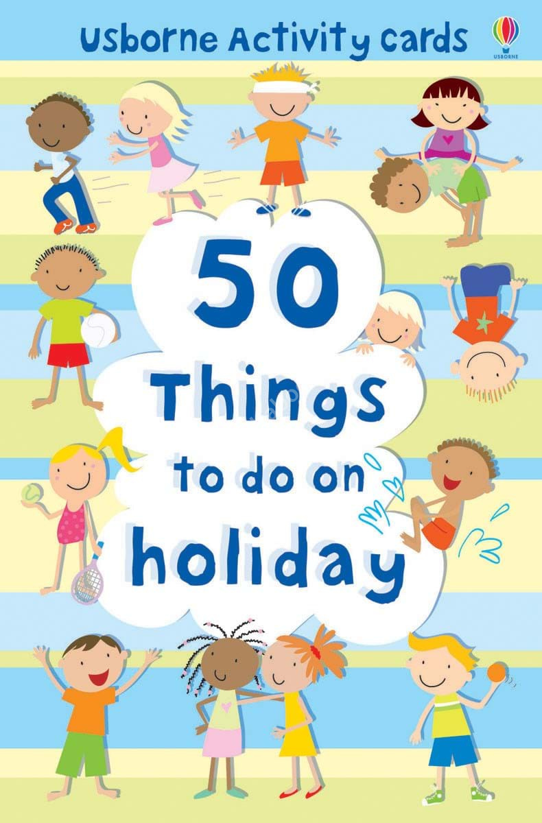 50 Things to do on holiday
