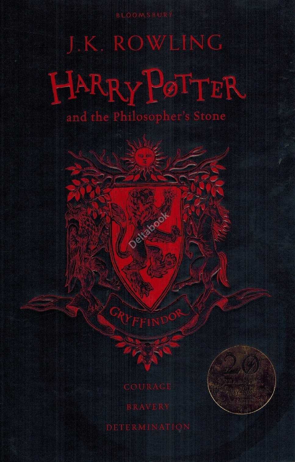 Harry Potter and the Philosopher's Stone (Gryffindor Edition) Hardback  Философский камень