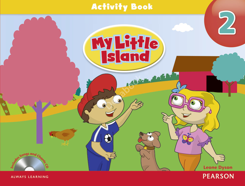 My Little Island 2 Activity Book + Songs and Chants Audio CD  Рабочая тетрадь