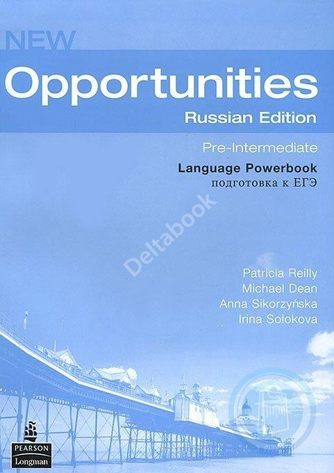 New Opportunities Pre-Intermediate Language Powerbook  Рабочая тетрадь