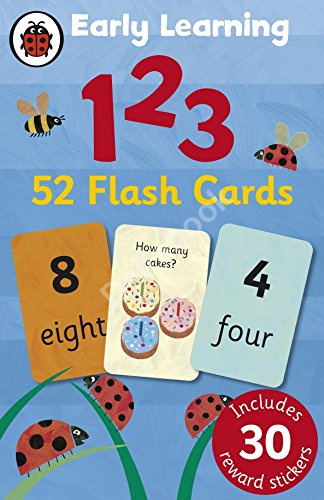 Early Learning: 123 Flash Cards