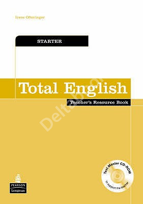 Total English Starter Teacher's Book + Resource Disc  Книга для учителя