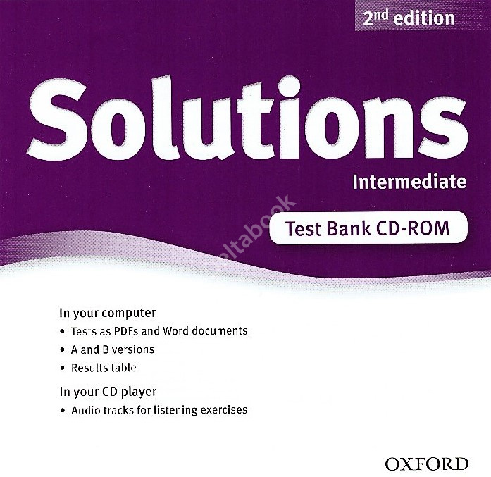 Solutions (Second Edition) Intermediate Test  Bank CD-ROM  Диск с тестами