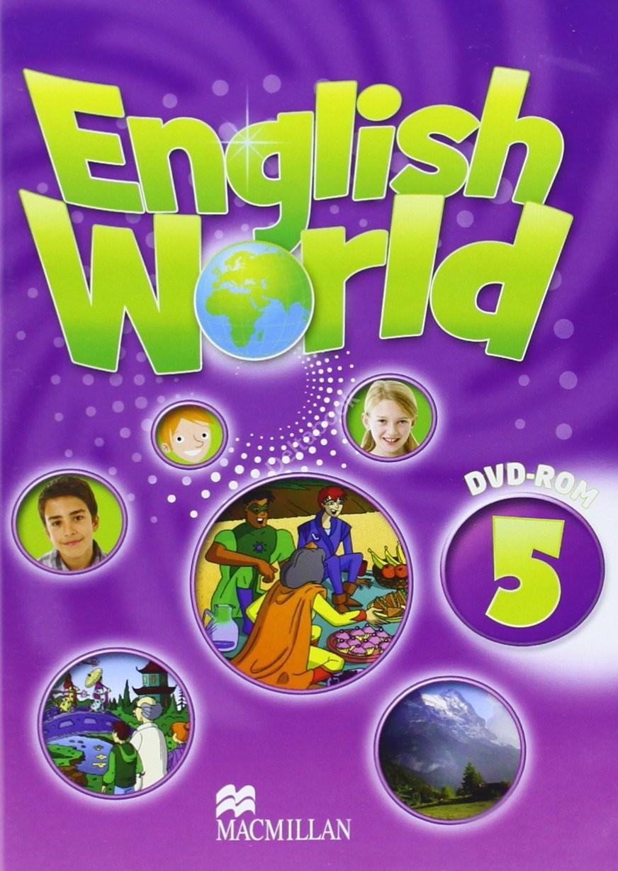 English World 5 DVD-ROM  Диск для компьютера