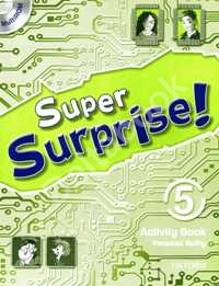Super Surprise! 5 Activity Book & Multirom Pack   Рабочая тетрадь + MultiRom