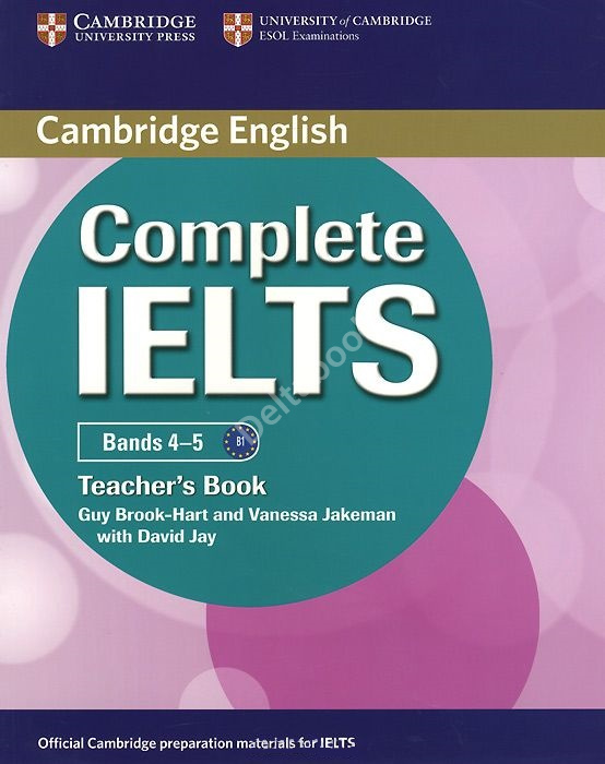 Complete IELTS Bands 4-5 Teacher's Book  Книга для учителя
