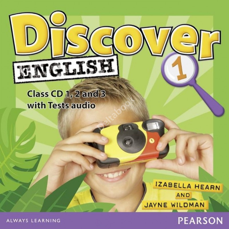 Discover English 1 Class Audio CDs  Аудио диски