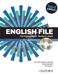 Third Edition English File Pre-Intermediate Student's Book + iTutor DVD-ROM   Учебник