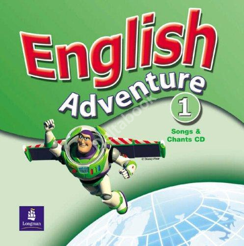 English Adventure 1 Songs and Chants CD  Диск к песням и играм