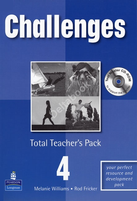 OLD Challenges 4 Total Teacher's Pack (with Test Master CD-ROM)  Книга для учителя
