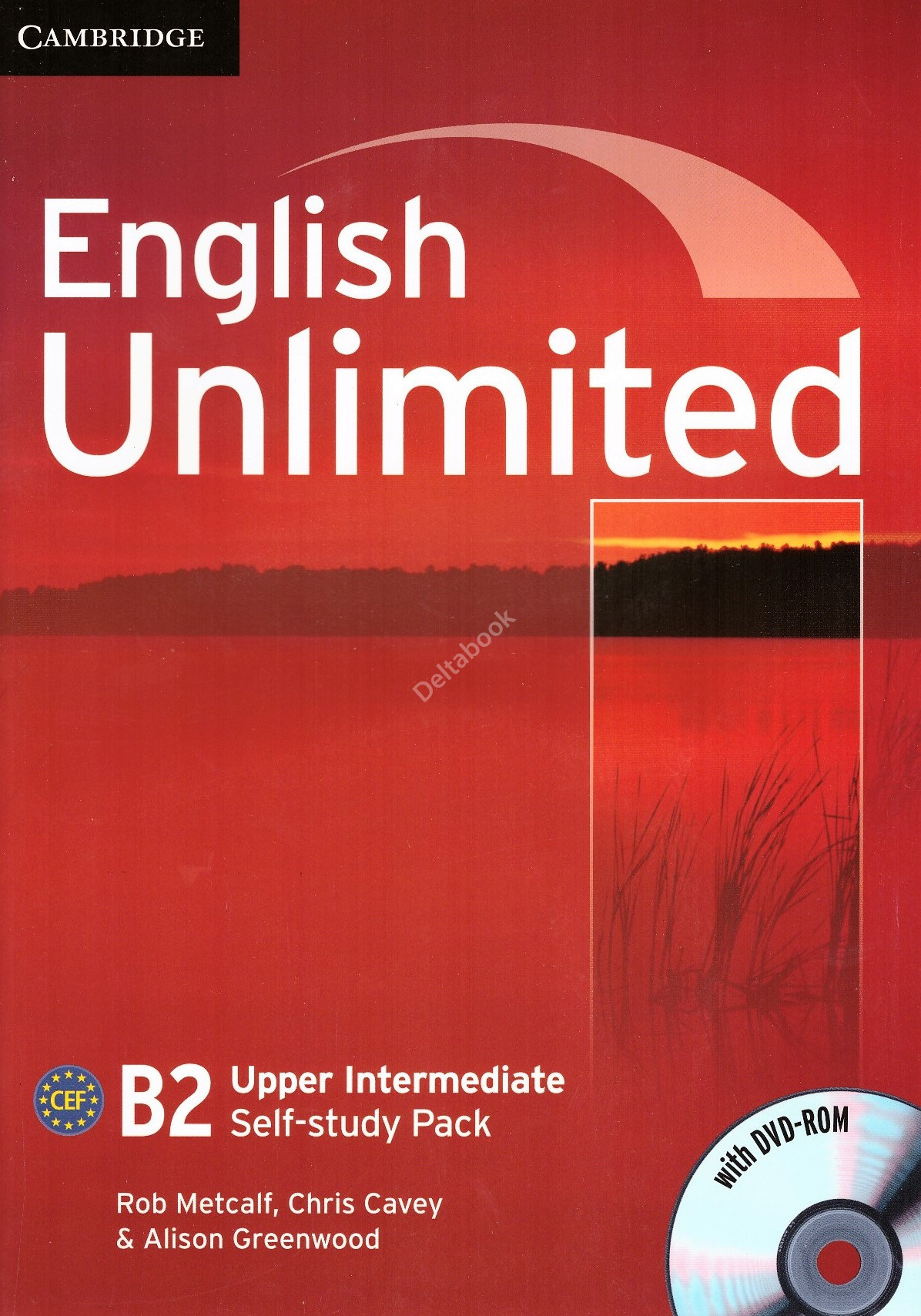 English Unlimited Upper-Intermediate B2 Self-study Pack + DVD-ROM  Рабочая тетрадь
