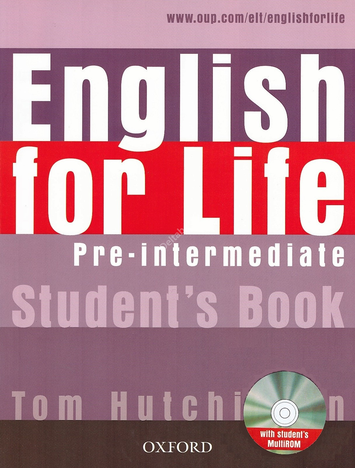 English for Life Pre-Intermediate Student's Book + MultiROM  Учебник