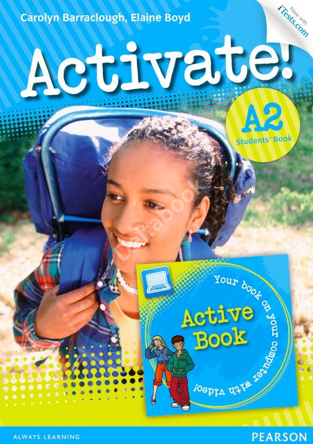 Activate! A2 Student's Book + iTests  Учебник + онлайн код