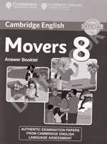Cambridge Young Learners English Tests Movers 8 Answer booklet   Ответы к учебнику