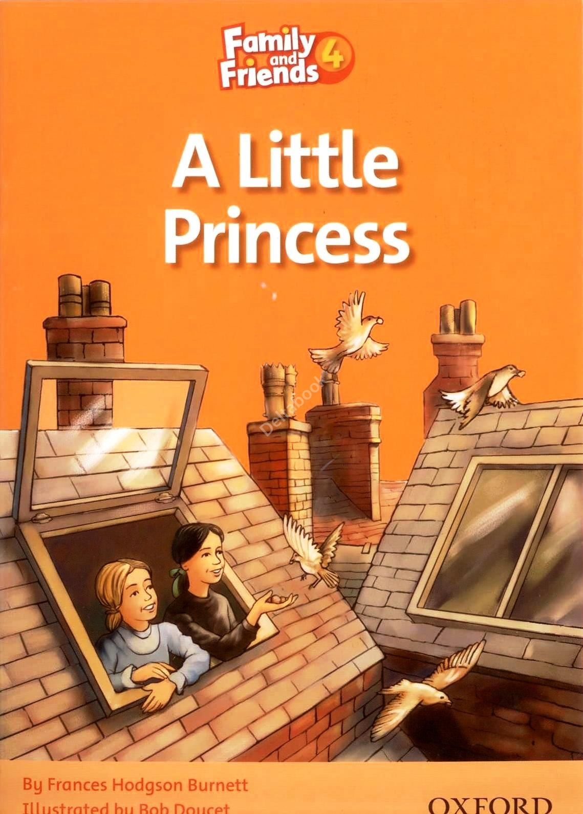 Family and Friends 4 Reader A Little Princess  Книга для чтения