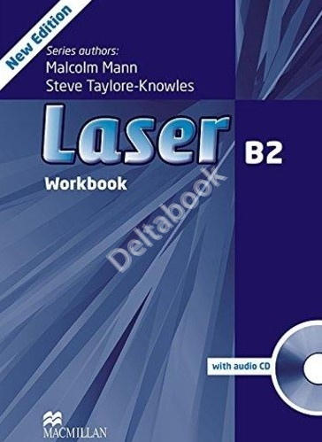 Laser (Third Edition) B2 Workbook + Audio CD  Рабочая тетрадь