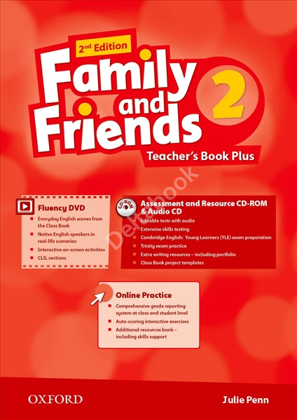 Family and Friends (2nd Edition) 2 Teacher's Book Plus  Книга для учителя