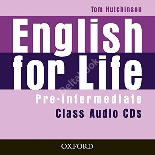 English for Life Pre-Intermediate Class Audio CDs (3 шт.)   Аудио диски
