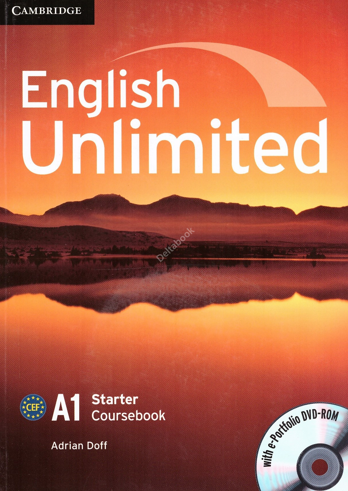 English Unlimited Starter A1 Coursebook + e-Portfolio DVD-ROM  Учебник