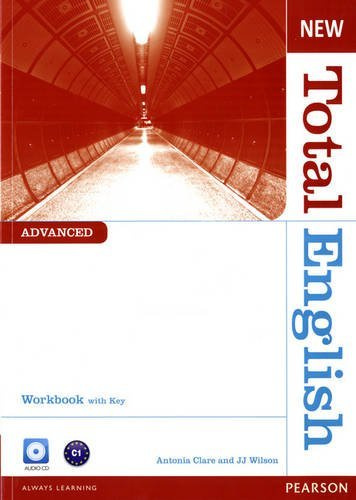 New Total English Advanced Workbook + Audio CD + key  Рабочая тетрадь + ответы