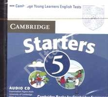 Cambridge Young Learners English Tests Starters 5 Audio CD  Аудио CD к учебнику