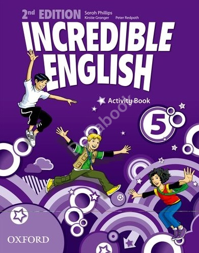Incredible English (Second Edition) 5 Activity Book  Рабочая тетрадь