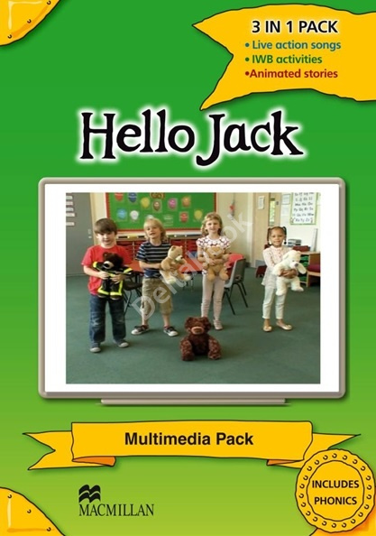 Hello Jack Multimedia DVD-ROM  Диск с упражнениями