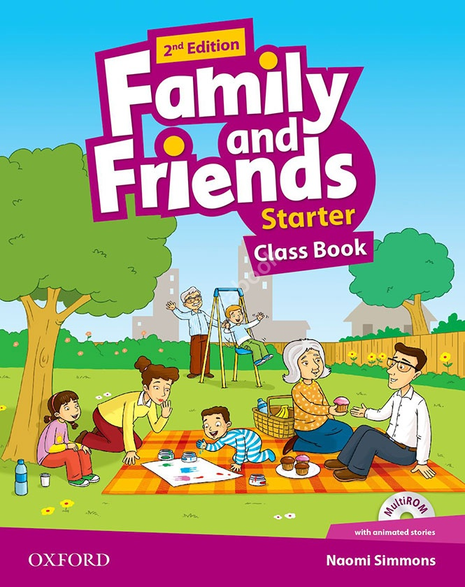 Family and Friends (2nd Edition) Starter Class Book + MultiROM   Учебник