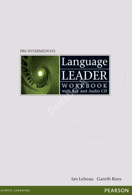 Language Leader Pre-Intermediate Workbook + Audio CD + Key  Рабочая тетрадь + ответы