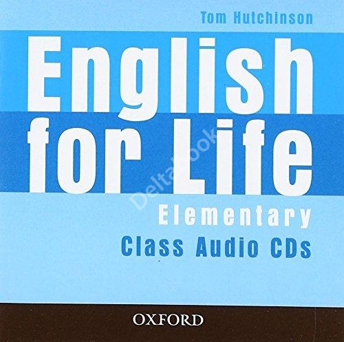 English for Life Elementary Class Audio CDs (3 шт.)   Аудио диски