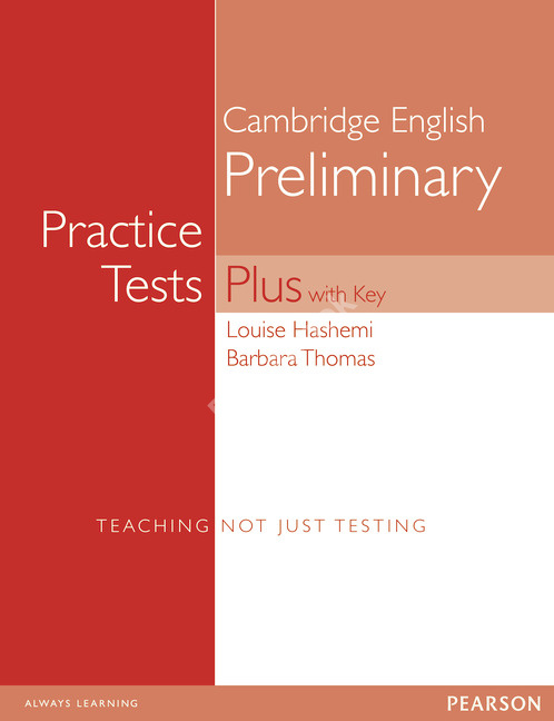 New PET Practice Tests Plus Student's Book + answer key