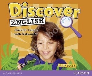 Discover English Starter Class Audio CDs  Аудио диски