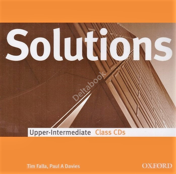 Solutions Upper-Intermediate Class CDs  Аудиодиски