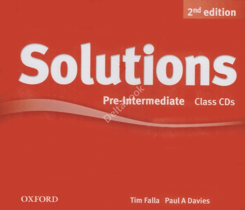 Solutions (Second Edition) Pre-Intermediate Class CDs  Аудиодиски