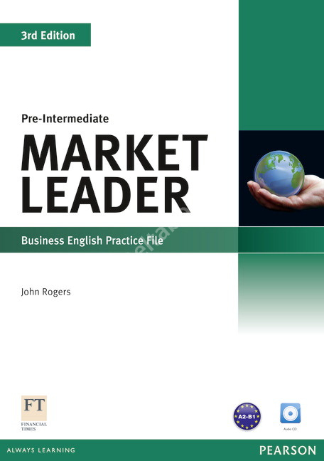 Market Leader (3rd Edition) Pre-Intermediate Practice File + Audio CD  Рабочая тетрадь