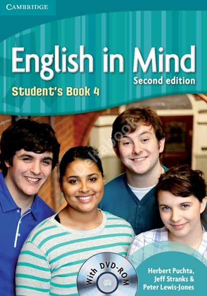English in Mind (Second Edition) 4 Student's Book + DVD-ROM  Учебник