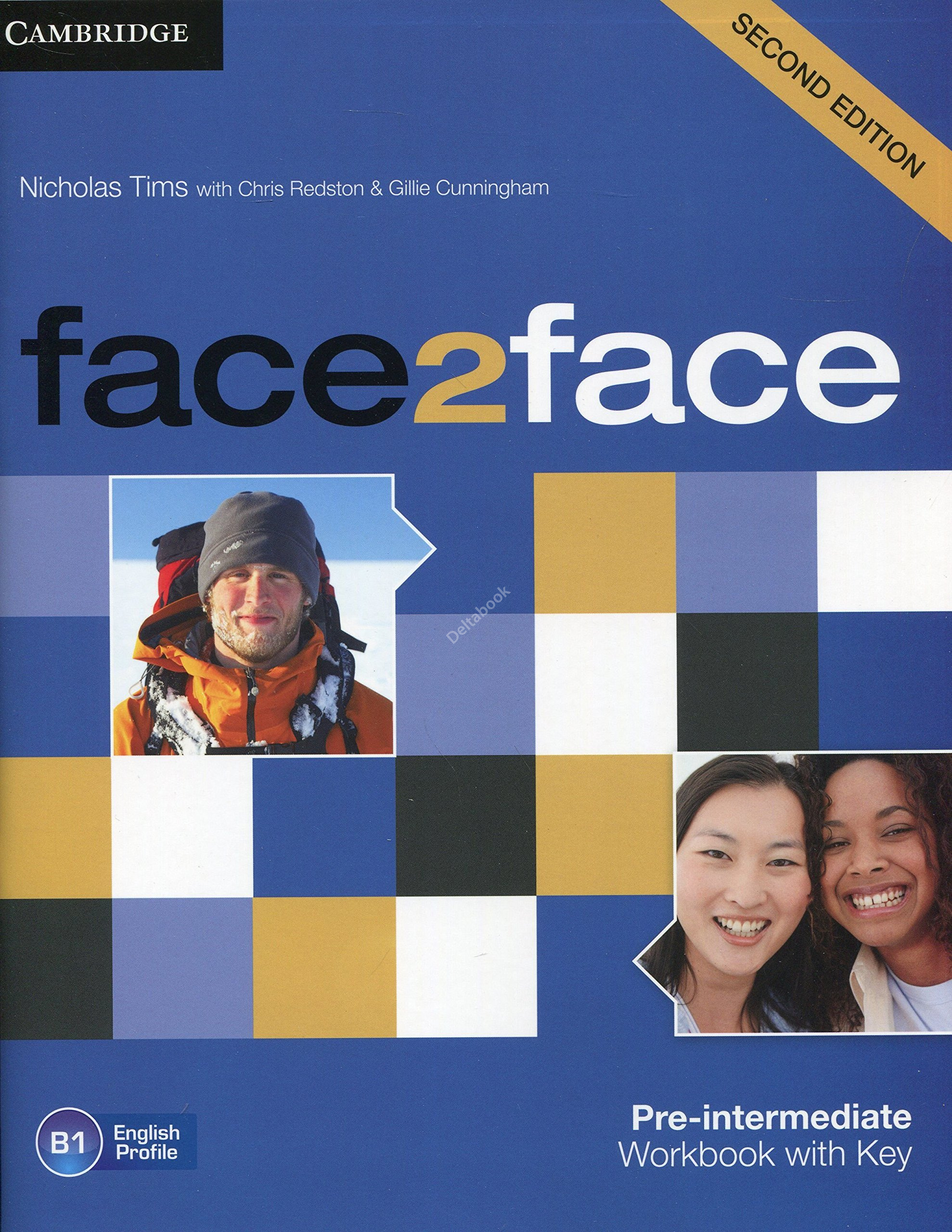 Face2Face (Second Edition) Pre-Intermediate Workbook + Key  Рабочая тетрадь + ответы